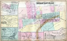 Strattanville, Maysville, Wild Cat Furnace, Redbank Furnace, Lucinda Furnace, East Parker, Clarion County 1877