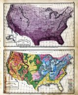 Climatological and Geological Map of the United States, Crawford County 1876