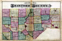 Crawford Co. Map, Crawford County 1876