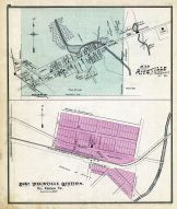 Riceville Bloomfield Tp., East Titusville Station Oil Creek Tp., Crawford County 1876