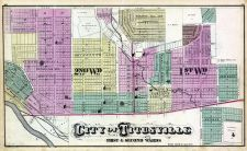 Titusville - Ward 1, 2, Crawford County 1876