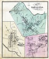 Townville, Woodcock, Little's Cor's Hayfield P.O., Crawford County 1876