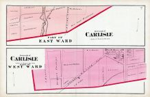Carlisle Borough - Part of West Ward and Part of East Ward, Cumberland County 1872