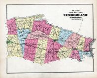 Cumberland County Map - Plan of, Cumberland County 1872