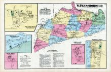 Plainfield, Mount Rock, West Hill, W. Pennsborough, Greason, Springfield, Cumberland County 1872