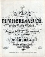 Title Page, Cumberland County 1872