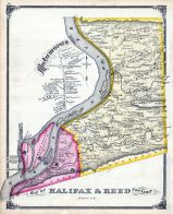 Halifax and Reed Township, Dauphin County 1875