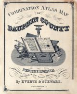 Title Page, Dauphin County 1875