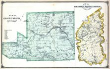 Concord Township, Nether Providence Township, Waterville, Elam P.O., South Media, Todmorden Mills, Waterville, Delaware County 1875
