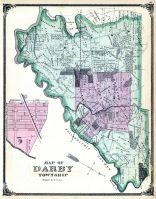 Darby Township, Sharon Hill P.O., Palermo, Hornetown, Delaware County 1875