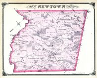 Newton Township, Central Square, Philad Turnpike, West Chester, Delaware County 1875