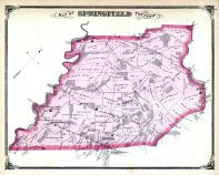 Springfield Township, Pennsdale, Morton P.O., Delaware County 1875