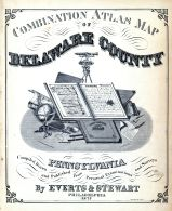 Title Page, Delaware County 1875