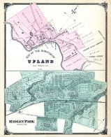 Upland Brourgh, Ridley Park, Delaware County 1875