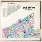 Erie County - Outline Plan, Erie County 1865