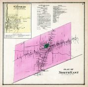 North East Plan, Wattsburg, Erie County 1865