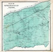 Springfield Township, Erie County 1865
