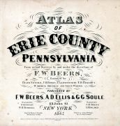 Title Page, Erie County 1865