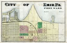 Erie City - Ward 1, Erie County 1876