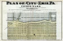 Erie City - Ward 4, Erie County 1876
