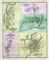 Lowville, Middleboro or McKean Corners, Cranesville, Wellsburg, Albion, Erie County 1876