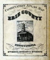 Title Page, Erie County 1876