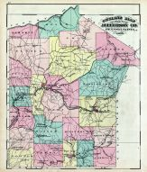 Jefferson County Outline Map, Jefferson County 1878