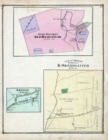 Grove Brothers Old Homestead, Plan of Property Belonging to H. Oberholtzer, Greble, Lebanon County 1875