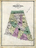 Lebanon County Plan, Lebanon County 1875