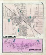 Lansdale, Skippackville, Montgomery County 1877