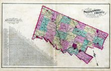 Montgomery County - Outline Map, Montgomery County 1877