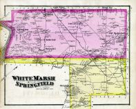 White Marsh and Springfield, Montgomery County 1877