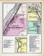 Glendon Borough - Part of, Williamsport, Raubsville, Flicksville, Northampton County 1874