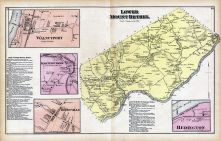 Lower Mount Bethel, Redington, Cherryville, Martins Creek, Walnutport, Northampton County 1874