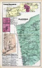 Upper Nazareth, Plainfield, Klecknersville, Chapman Borough, Northampton County 1874