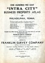 Title Page, Philadelphia 1939 Wards 5 to 10