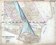 Plate 019 - McKees Rocks Boro 2, Pittsburgh 1896 Southern Vicinity