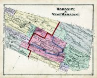 Mahanoy and West Mahanoy, Schuylkill County 1875