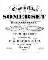 Somerset County 1876 Pennsylvania Historical Atlas