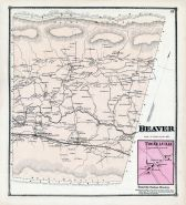Beaver, Troxelville, Union and Snyder Counties 1868