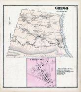 Gregg, Uniontown, Union and Snyder Counties 1868