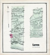 Lewis, Union and Snyder Counties 1868