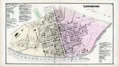 Lewisburg., Union and Snyder Counties 1868