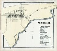 Middleburg, Union and Snyder Counties 1868