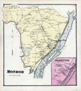 Monroe, Shamokin Dam, Union and Snyder Counties 1868