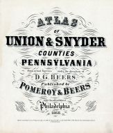 Title Page, Union and Snyder Counties 1868