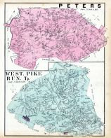 Peters, West, Pike Run. Tp., Washington County 1876