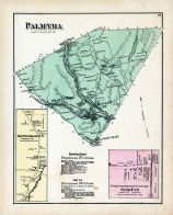 Palmyra, New Foundland P.O., Sand Cut, Wayne County 1872