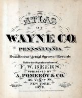 Title Page, Wayne County 1872