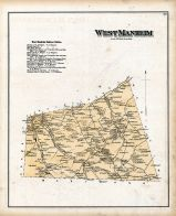 West Manheim, York County 1876
